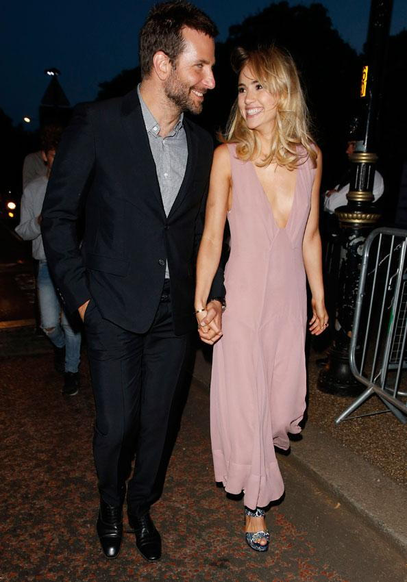Bradley Cooper and Suki Waterhouse Cutest Couple Photos