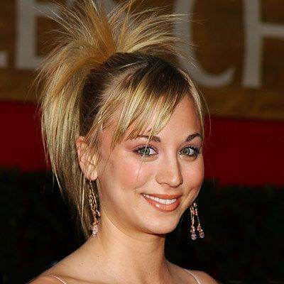 Kaley Cuoco - Transformation - Hair - Celebrity Before and After