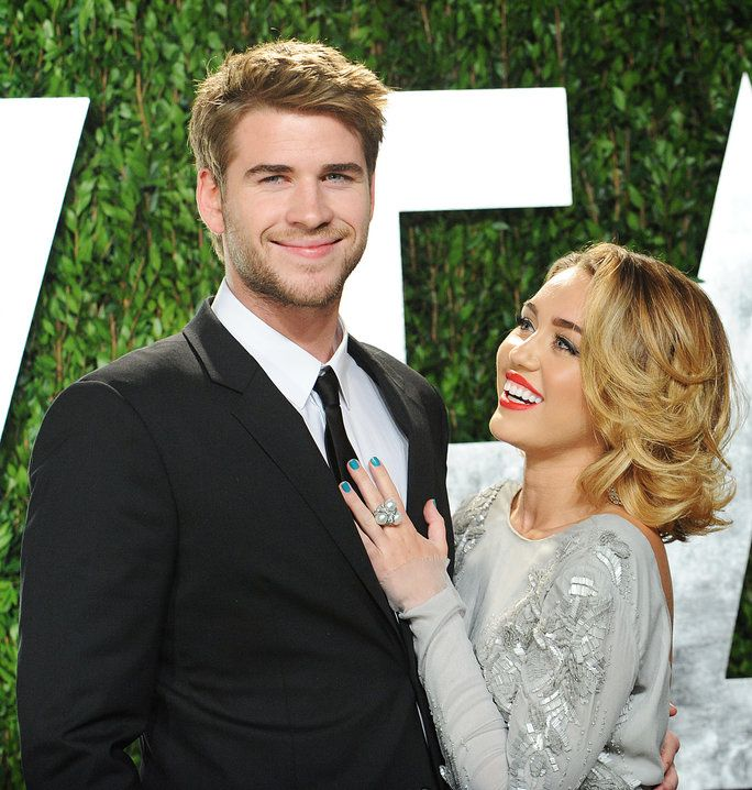 Liam Hemsworth and Miley Cyrus - February 26, 2012 - LEAD