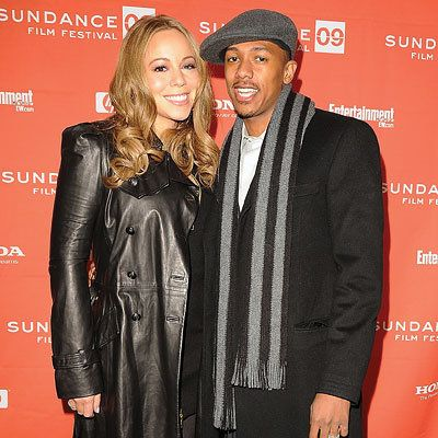 玛丽亚 Carey and Nick Cannon, Premiere of Push, Red Carpet Report, 2009 Sundance Film Festival