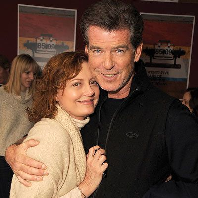 苏珊 Sarandon and Pierce Brosnan, Premiere of The Greatest, Sundance Red Carpet Report, 2009 Sundance Film Festival