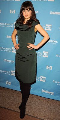 佐伊 Deschanel, 500 Days of Summer premiere, Sundance Red Carpet Report, 2009 Sundance Film Festival