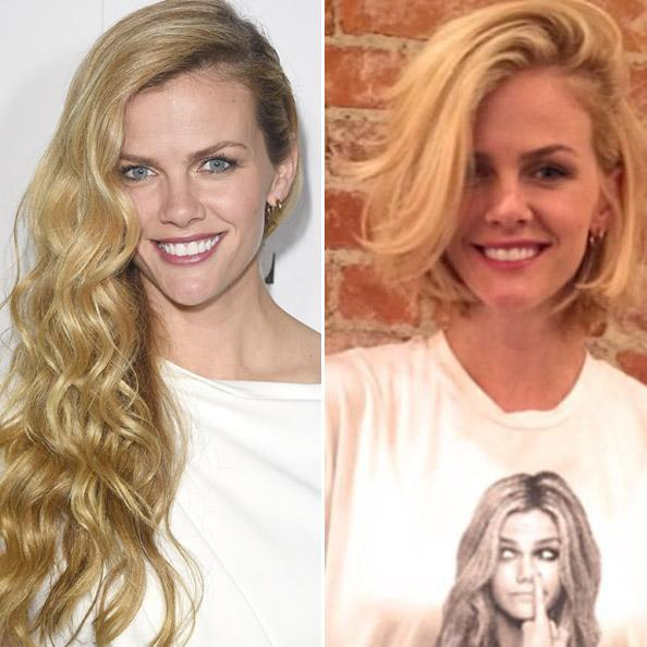 Brooklyn Decker before/after hair