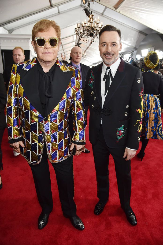 埃尔顿 John, David Furnish