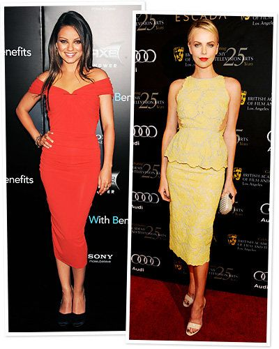sexet Spring Trends - Mila Kunis - Charlize Theron