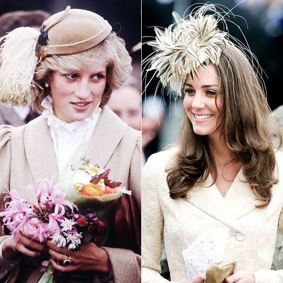 Princesa Diana and Kate Middleton's Similar Style