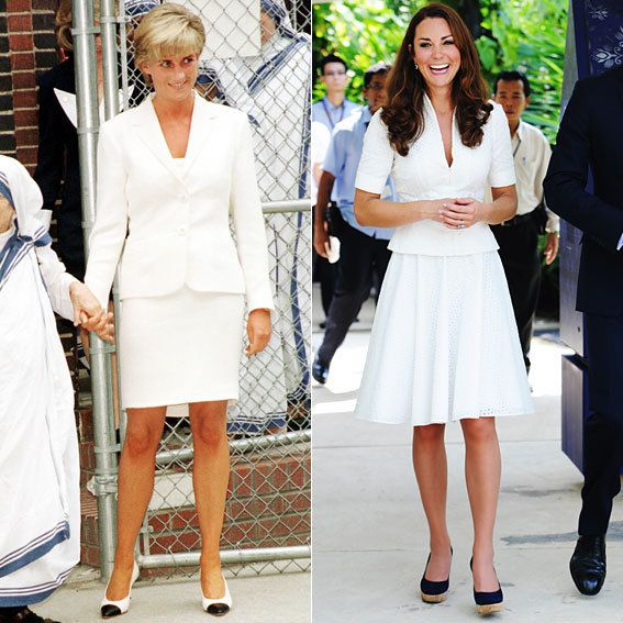 Kate and Diana Style