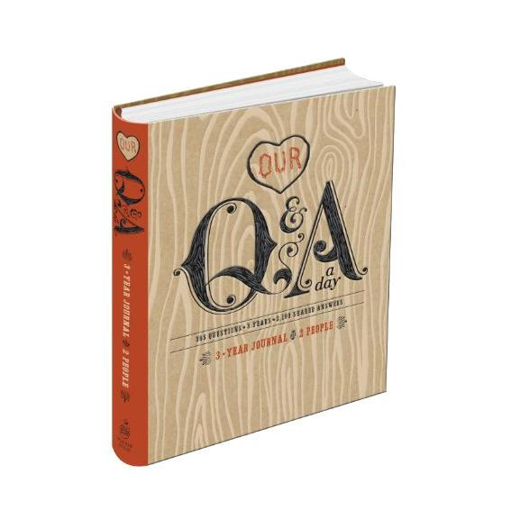 our Q&A a Day: 3-Year Journal for Two People