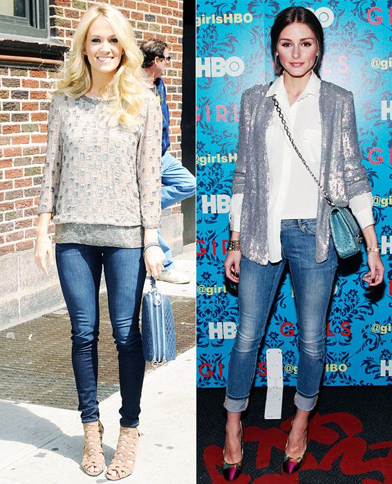 Carrie Underwood and Olivia Palermo