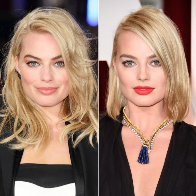 Margot Robbie New Hair