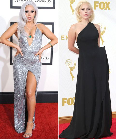 Oscars Gaga Comparison