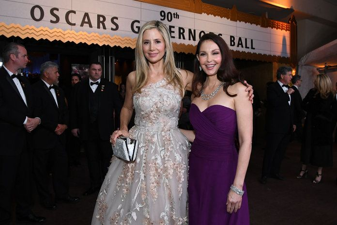 Mira Sorvino and Ashley Judd