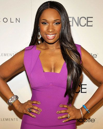 Jennifer Hudson - Hot Star Nail Polish Trends - Greige Nails