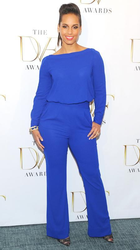 Alicia Keys in DVF