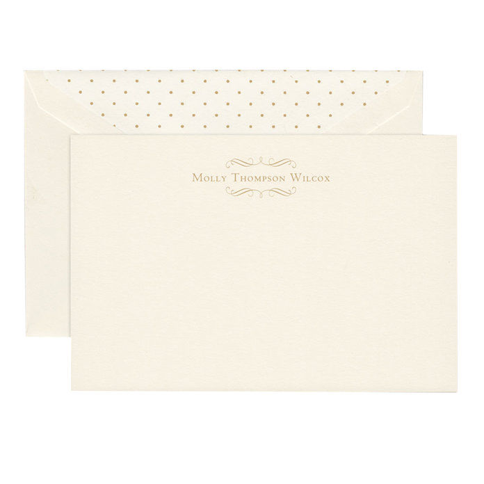 Kran & Co. Personalized Stationery