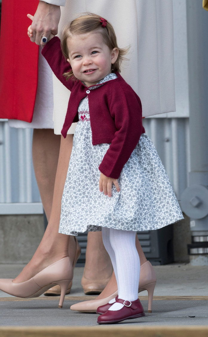 Prinsesse Charlotte is a color-coordinating pro