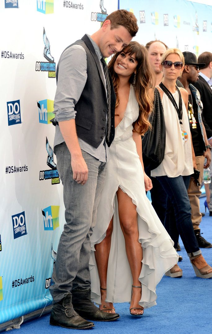 Lea Michele and Cory Monteith Couple Moments lead