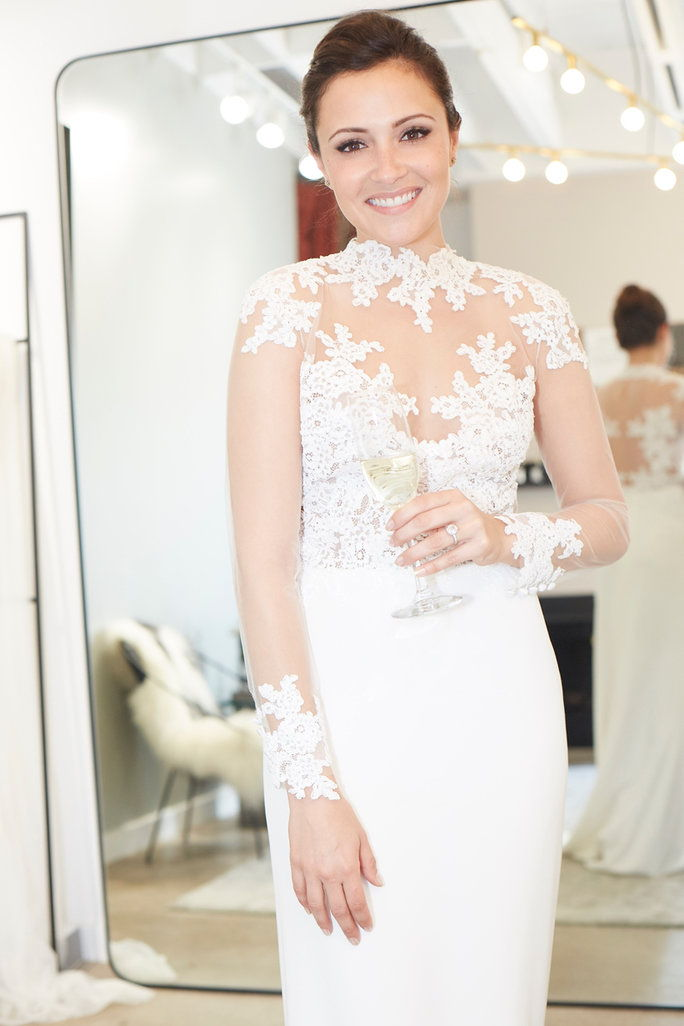 "Unbridaled by Dan Jones ""Angelica"" gown at Loho Bride, $3,250"