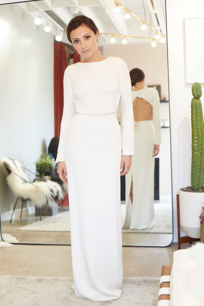 "霍顿 ""Cheyne"" gown at Loho Bride, $2,475."