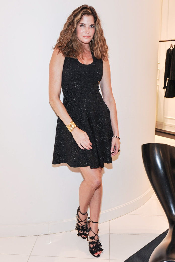 STEPHANIE SEYMOUR, 48: NOW