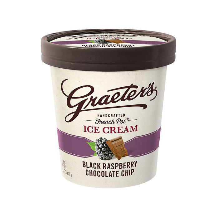 GRAETER'S BLACK RASPBERRY CHOCOLATE CHIP