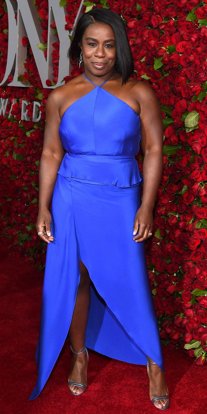 Igralka Uzo Aduba attends the 70th Annual Tony Awards at The Beacon Theatre on June 12, 2016 in New York City.