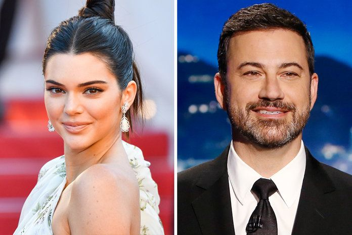 Kendall Jenner and Jimmy Kimmel