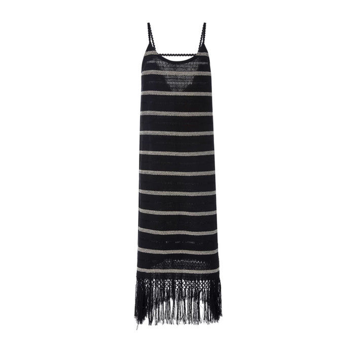 Annie Handwoven Fringe Dress