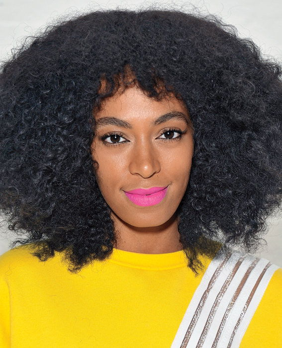 Solange Knowles attends the Q&Q Launch Event at Open House Gallery