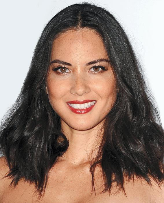 Olivia Munn attends the 17th annual Hollywood Film Awards at The Beverly Hilton Hotel