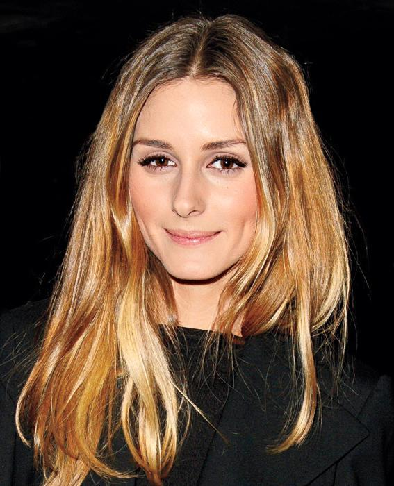 Olivia Palermo at the Gyunel show, Autumn Winter 2014, London Fashion Week