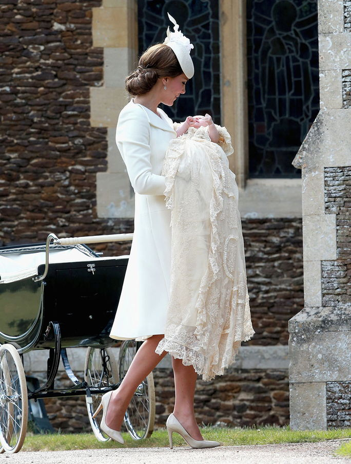 Det Christening Of Princess Charlotte Of Cambridge