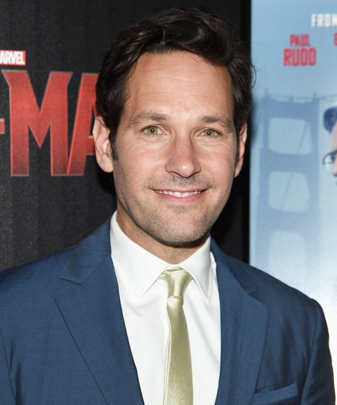 Paul Rudd at Ant-Man Marvel Screening
