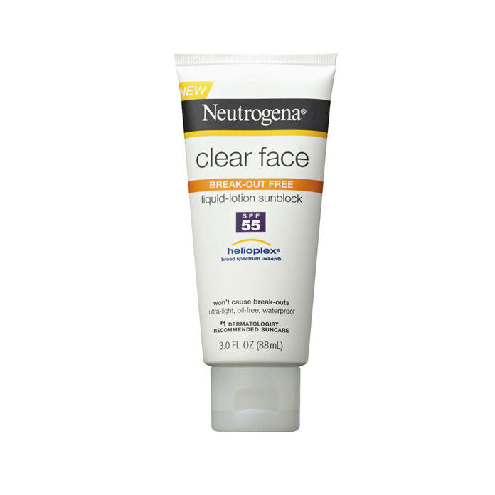 Neutrogena Clear Face Sunscreen Lotion
