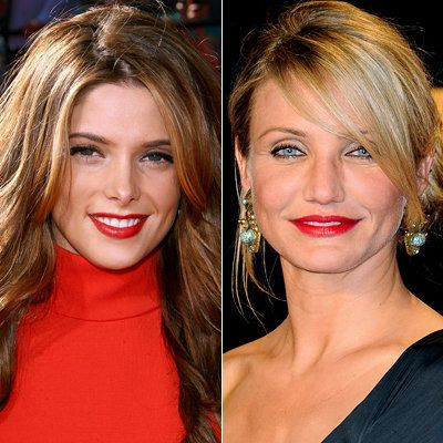 Ashley Greene-Cameron Diaz-lipstick