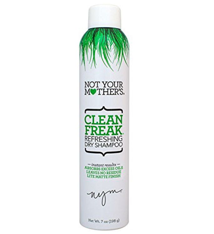 药店 Alternative: Not Your Mother's Clean Freak Dry Shampoo