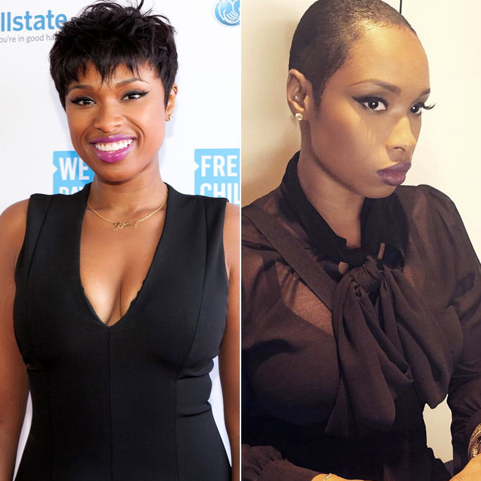 Jennifer Hudson Cuts Pixie 2 Up
