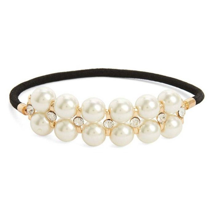 Biserno Bead Ponytail Holder