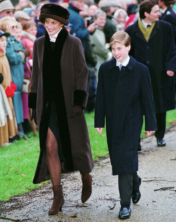王子 William and Princess Diana Lead