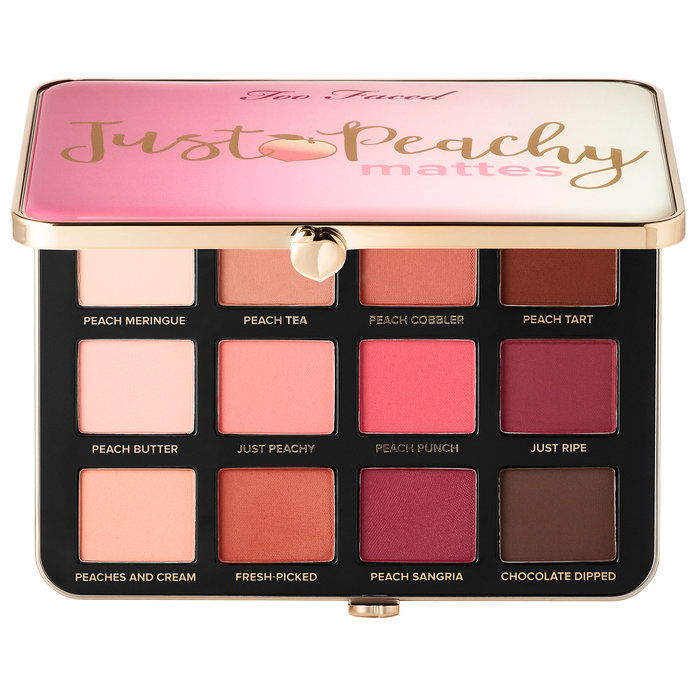 TOO FACED Just Peachy Velvet Matte Eye Shadow Palette