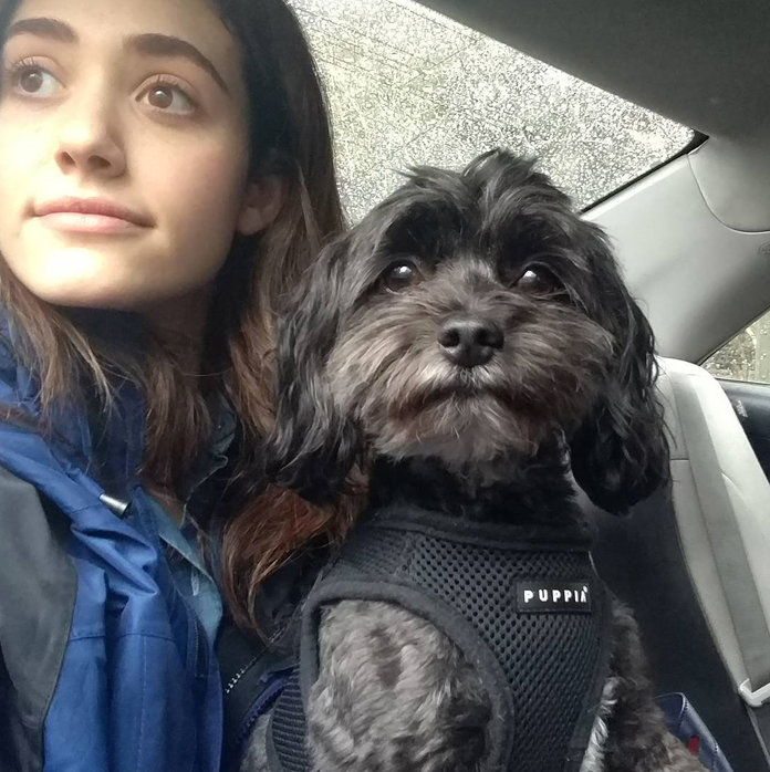 Emmy Rossum and Pepper