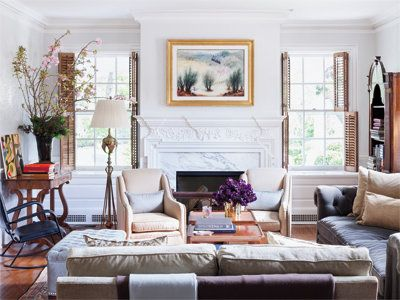 Kenneth Cole's Stylish Home - The Sitting Room