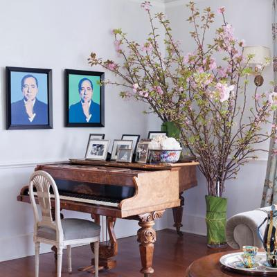 Kenneth Cole's Stylish Home - The Art