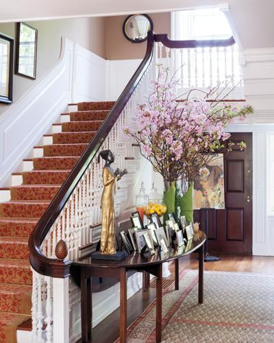 Kenneth Cole's Stylish Home - The Foyer