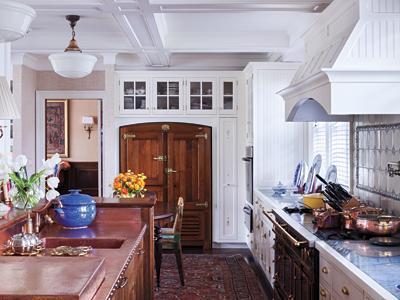 Kenneth Cole's Stylish Home - The Kitchen
