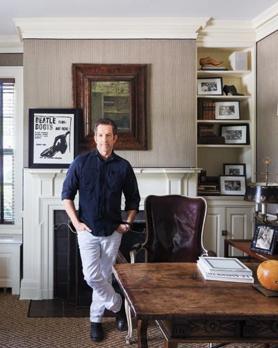 Kenneth Cole's Stylish Home - The Study