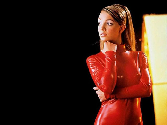 Klassisk Red Latex Britney