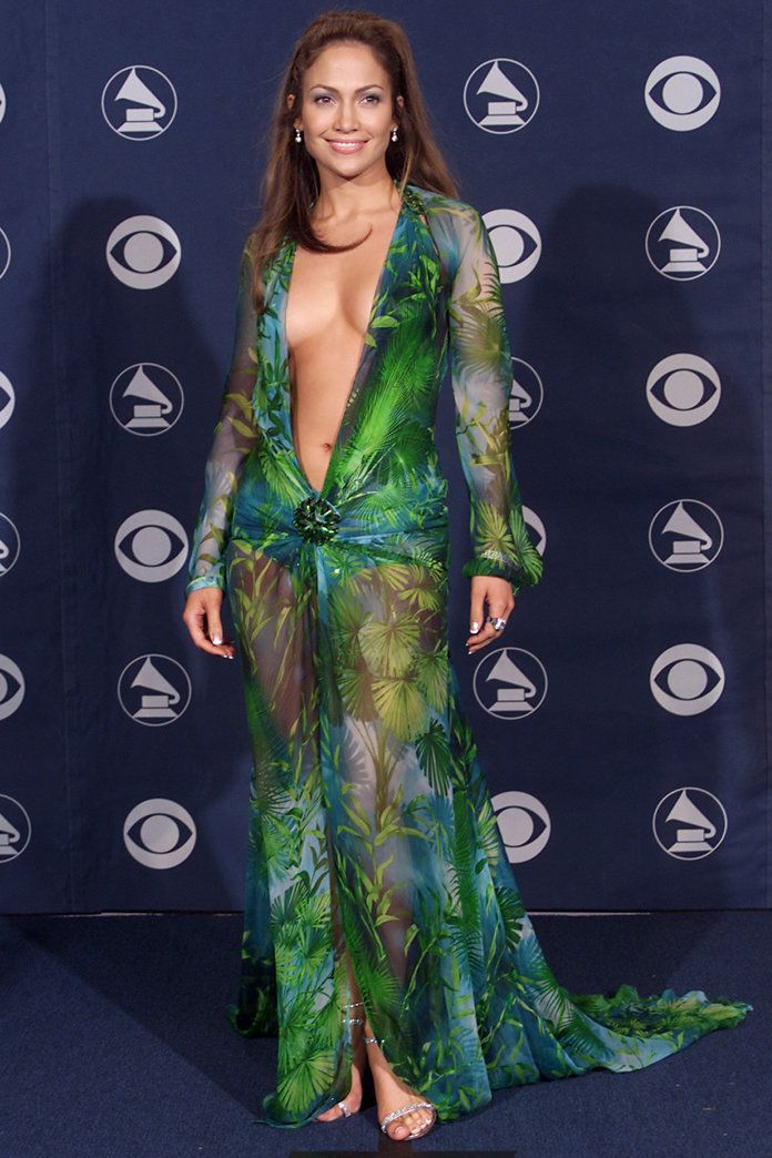 J.Lo at the 2000 Grammys