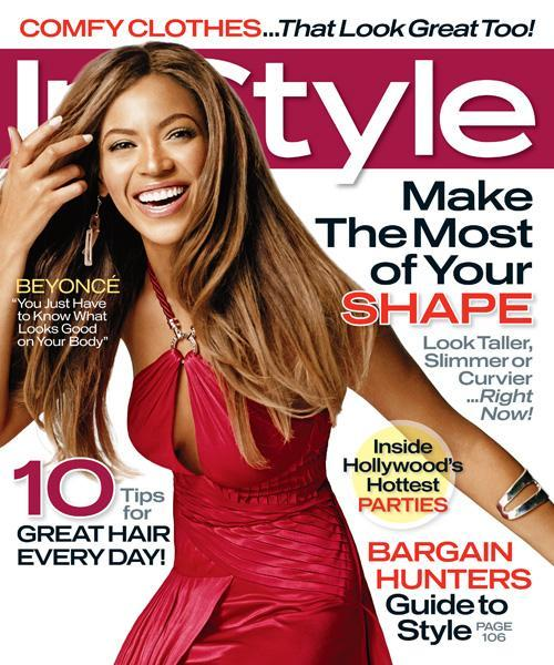 Med stil Covers - January 2007, Beyonce