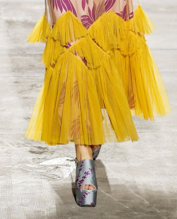 巴黎 Fashion Week - Dries Van Noten - Runway